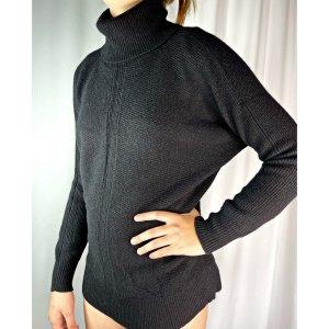 Nicole Farhi Turtleneck Sweater black cashmere