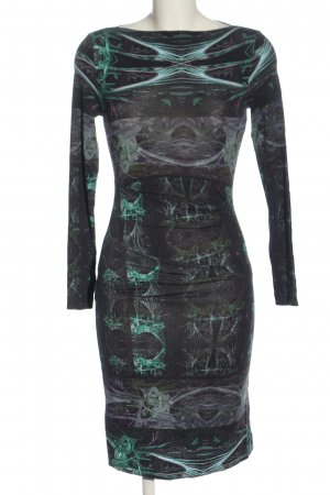 Nicole Miller Sheath Dress abstract pattern casual look