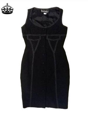 Nicole Miller Midi Dress dark blue