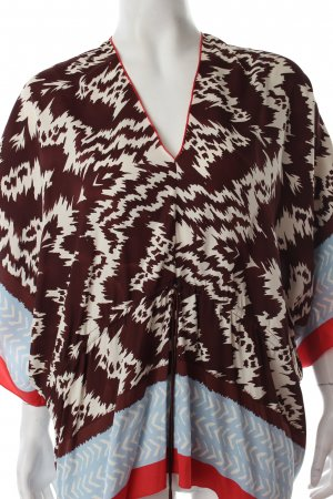 Nicole Miller Tunic Blouse abstract pattern