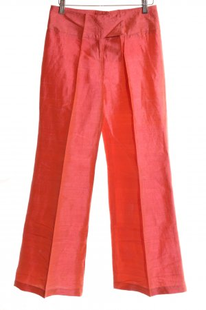 Nicowa Bundfaltenhose rot Elegant