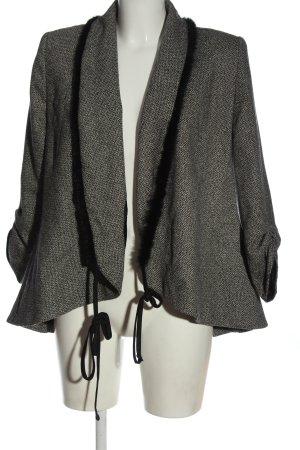 Nicowa Cardigan black-natural white allover print casual look