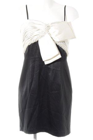 Nicowa Cocktailkleid schwarz-creme Elegant