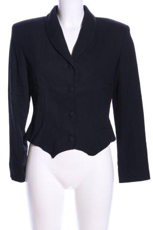Nicowa Jersey blazer zwart zakelijke stijl