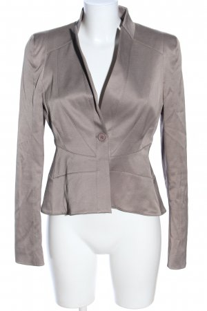 Nicowa Kurz-Blazer braun Business-Look