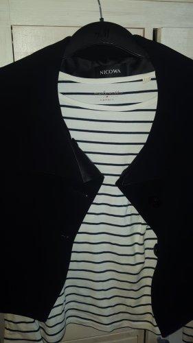 Nicowa Short Blazer black mixture fibre