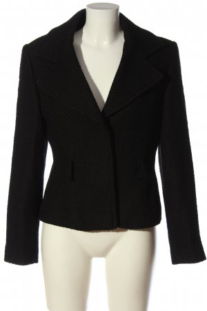 Nicowa Kurz-Blazer schwarz Business-Look