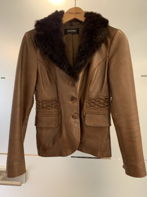 Nicowa Leather Jacket multicolored leather