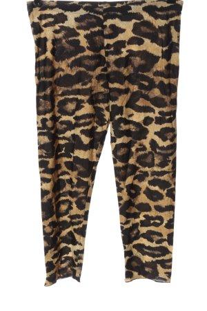 Nicowa Leggings black-cream leopard pattern casual look