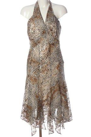 Nicowa Mini Dress leopard pattern elegant