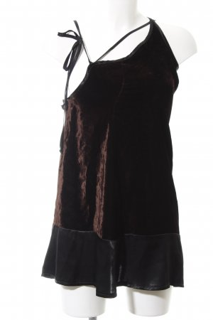Nicowa Minikleid braun-schwarz Elegant