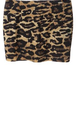 Nicowa Minigonna Stampa leopardata stile casual