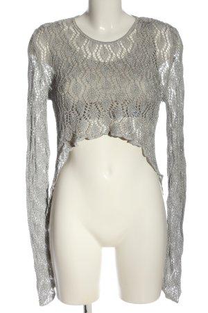 Nicowa Sweater Twin Set light grey casual look
