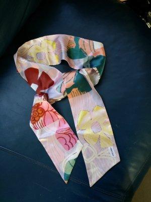 Nicowa Zijden sjaal karmijn-donkergroen Zijde