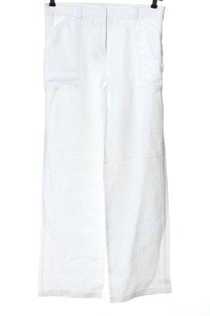 Nicowa Jersey Pants white casual look