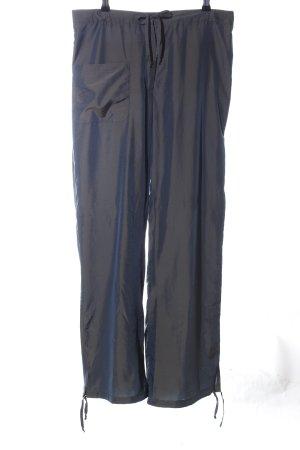 Nicowa Stoffhose blau meliert Casual-Look