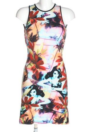 Nicowa Stretch Dress allover print casual look