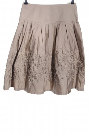 Nicowa Circle Skirt natural white casual look