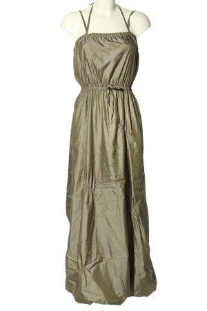 Nicowa Trägerkleid khaki extravaganter Stil