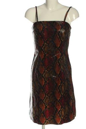 Nicowa Trägerkleid Allover-Druck Elegant