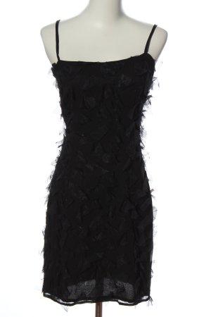 Nicowa Trägerkleid schwarz extravaganter Stil