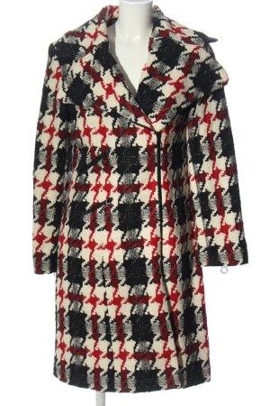 Nicowa Between-Seasons-Coat check pattern casual look
