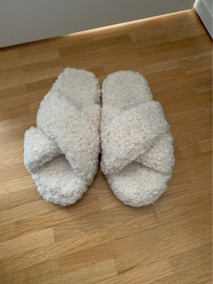 Asos Pantuflas blanco puro