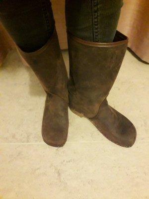 Bottes d'hiver gris brun