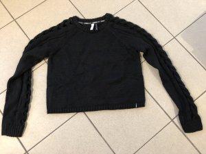 Adidas NEO Pullover all'uncinetto nero