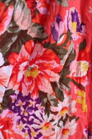 Amisu Robe Hippie multicolore coton