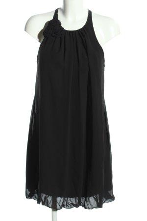 Niente A-Linien Kleid schwarz Elegant