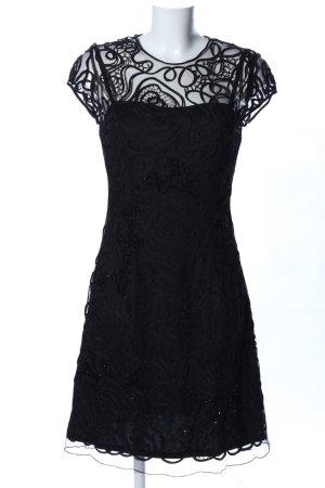 Niente Cocktailkleid schwarz Elegant