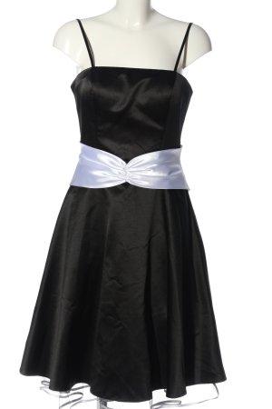 Niente Abendkleid schwarz-weiß Elegant