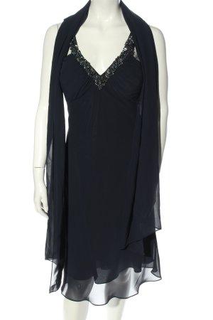 Niente Pailettenkleid schwarz Elegant