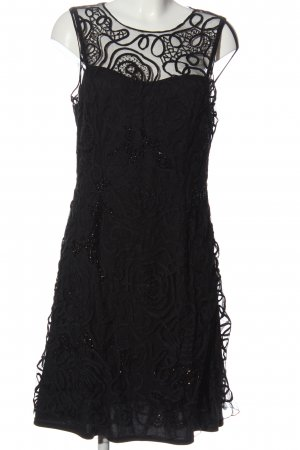 Niente Lace Dress black elegant