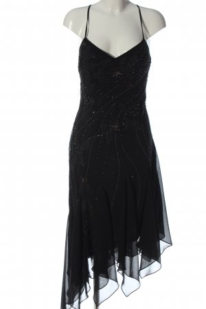 Niente Trägerkleid schwarz Elegant
