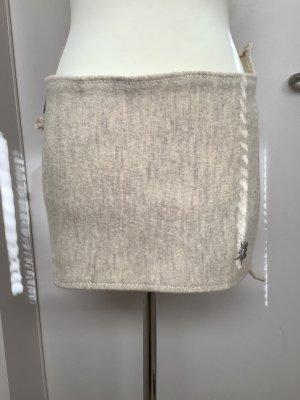 Fabric Belt natural white-grey brown felt