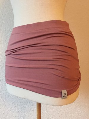 Kidneykaren Fabric Belt mauve-dusky pink cotton