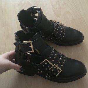 Nieten Boots / Cut Out Boots / Blogger Boots