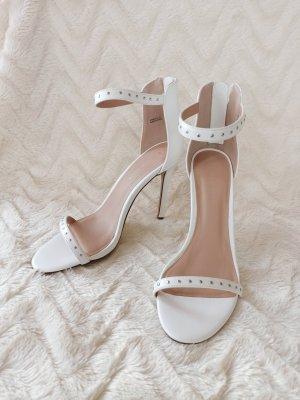 New Look Sandales à talons hauts et lanière blanc