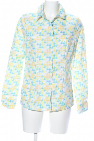 nife Hemd-Bluse grafisches Muster Casual-Look