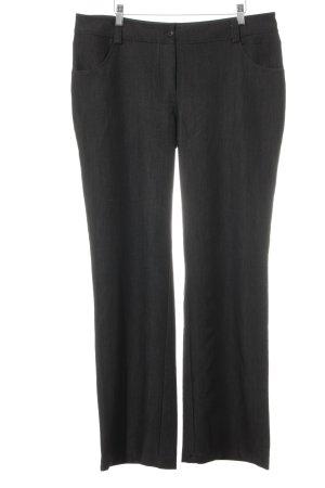 nife Pantalone a zampa d'elefante antracite-bianco puntinato Elementi plastici