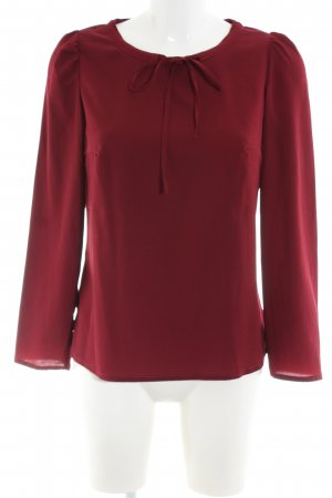 nife Schlupf-Bluse rot Business-Look