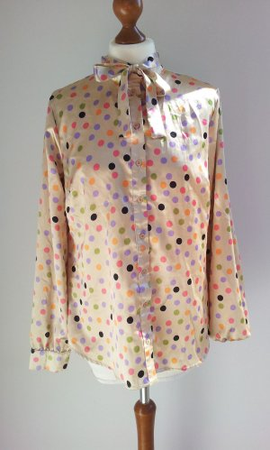 Blouse avec noeuds multicolore polyester