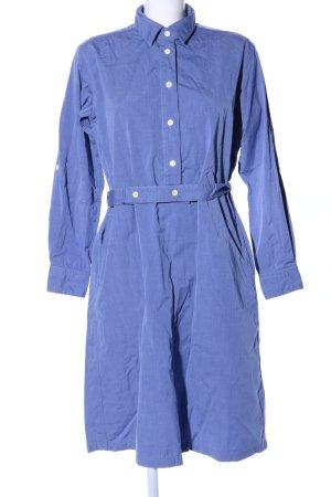 Nigel Cabourn Shirtwaist dress blue business style