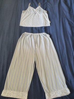 Olsen Collection Pijama blanco-azul celeste