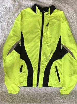 Brooks Sports Jacket neon green-black