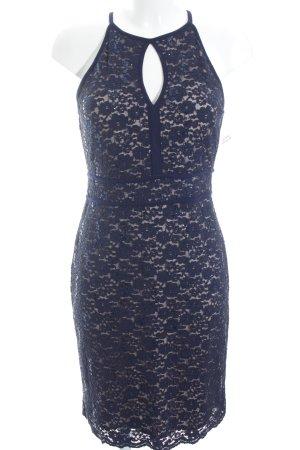Nightway Abendkleid nude-dunkelblau Casual-Look