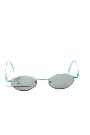 NiGuRa SUNDREAM Okulary jasnoszary-niebieski W stylu casual