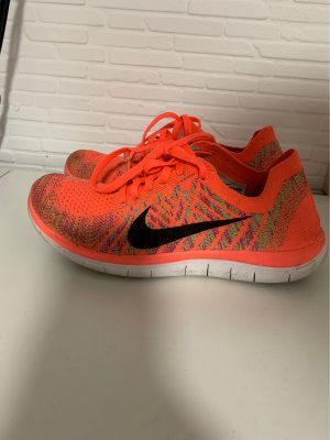 Nike Sneakers met veters oranje
